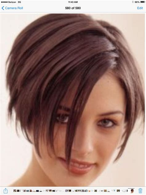 over the ear length layered bob 253 best images about haircuts on pinterest chin length