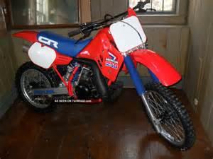 Honda 250 Dirt Bike 1985 Honda Cr 250 Cr250 Vintage Dirt Bike All 85 Cr 250