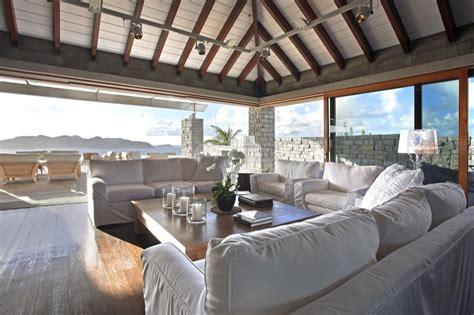 spectacular oceanfront residence  st barts