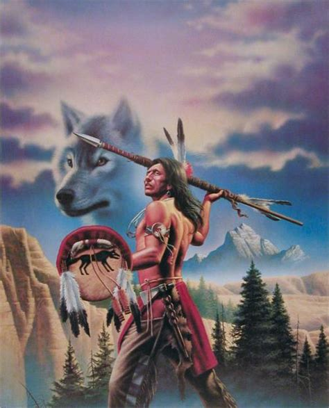 native american wolf spirit wolf spirit art print by simon dewey best deal on internet