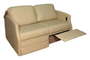 flexsteel sleeper sofa flexsteel 4615 sleeper sofa w dual footrests glastop inc