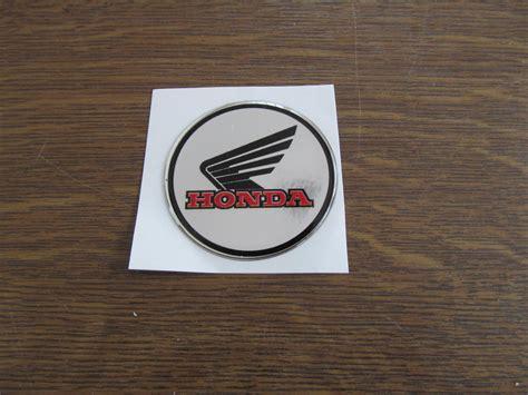 Honda Aufkleber Chrom by Honda Gel Emblem Rund 5 Cm Chrome Oder Schwarz Honda