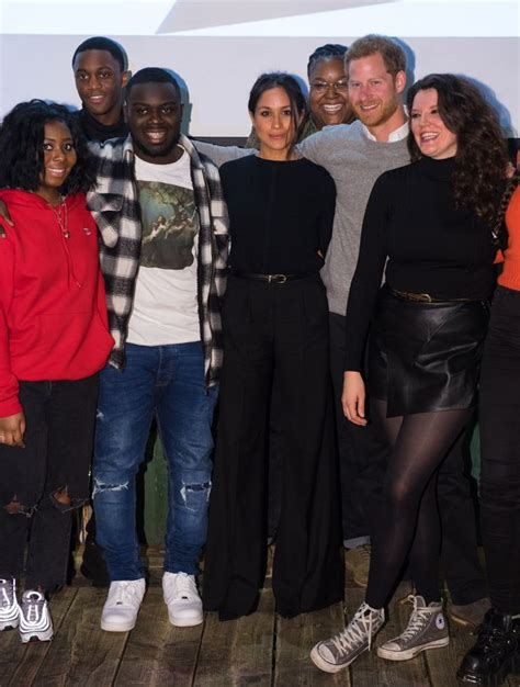 Chanel Series 615 2 Import Shoes Heels bun costume jewellery and those chic flares meghan markle in brixton shows how she