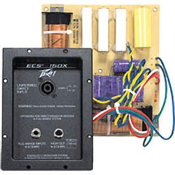 Cabinet Ecs by Peavey Ecs 150x Cabinet Speaker Crossover 150 Hz