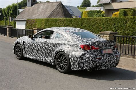 Autobild Erlkönig by Lexus Turbocharges 2016 Rc Coupe Adds V6 Awd Version