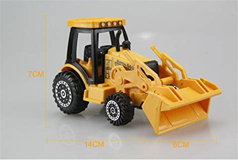 Diecast Construction Playset Isi 6pcs Die Cast Metal Se327 metal plastic die cast construction mini vehicles playset toys toys trucks