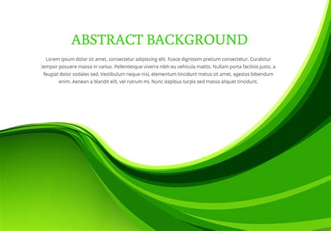 vector pattern background green green wave background design vector download free vector