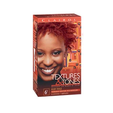 clairol textures and tones colors clairol texture tones 6r ruby rage clairolhair skin