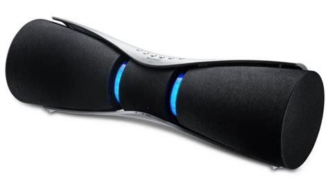 Speaker Bluetooth Sharp sharp introduceert een draadloze bluetooth speaker met futuristisch design witgoedsupport