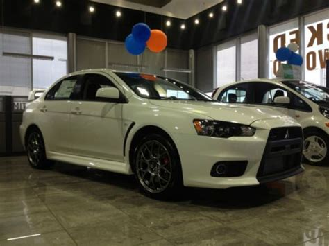 mitsubishi sports car 2014 find 2014 mitsubishi lancer evolution x gsr awd turbo