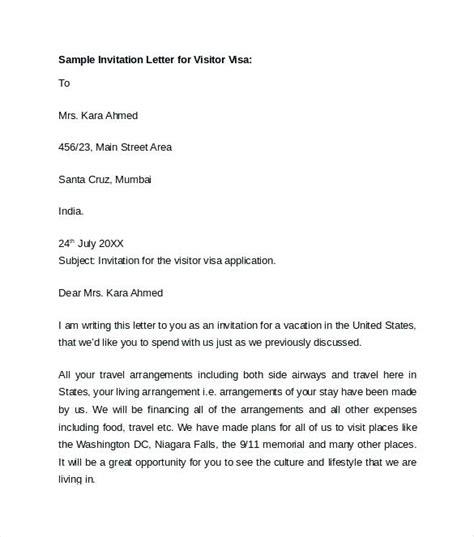business visa invitation letter format for india invitation letter for us business visa from india granitestateartsmarket