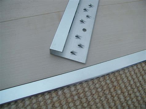 FelineEdge Brass Threshold: carpet to hard flooring
