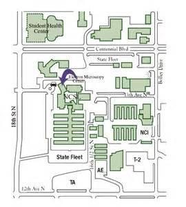 The Dakota Floor Plan location electron microscopy center ndsu