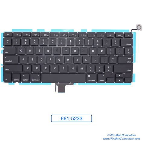 Keyboard Macbook Pro 13 A1278 661 5233 keyboard replacement macbook pro 13inch a1278