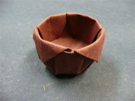 Origami Tea Cup - origami cup and saucer easy paper craft for