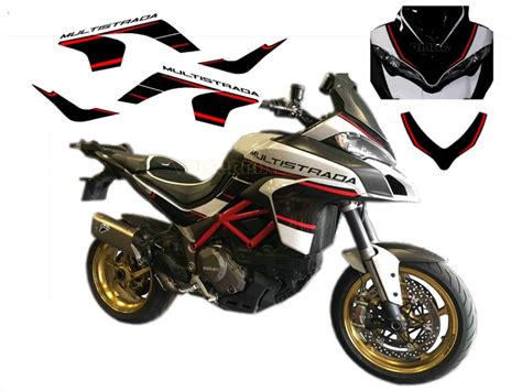 Ducati Monster 1200 Aufkleber by Aufkleber Kit Quot Custom Design Quot F 252 R Ducati Multistrada 1200
