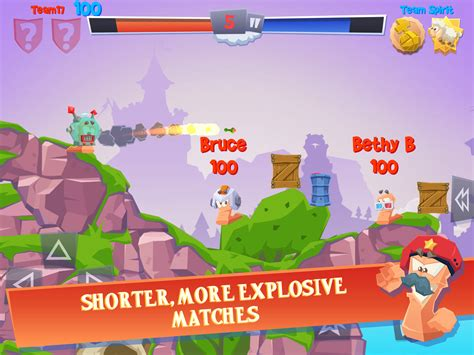 worms revolution apk 3rd strike worms 4 out now on android