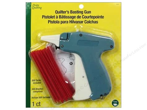 Basting Gun For Quilting by Dritz Quilting Basting Gun With 500 Tacks Createforless