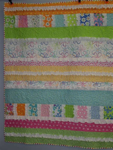 Ruffle Quilt Pattern by Cottage Chatter From Quilted Cottage
