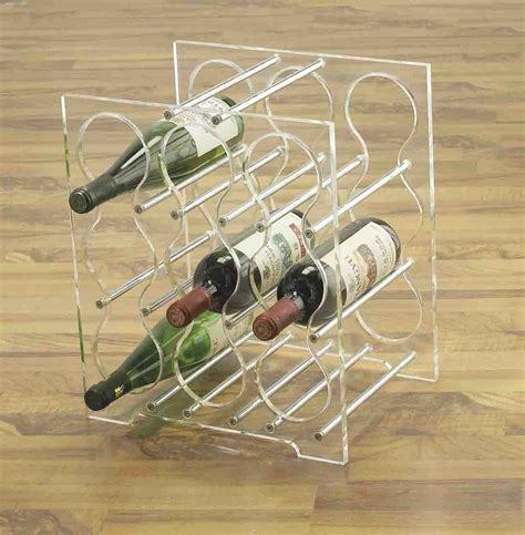 pin acrylic wine rack yyfacryliccom on
