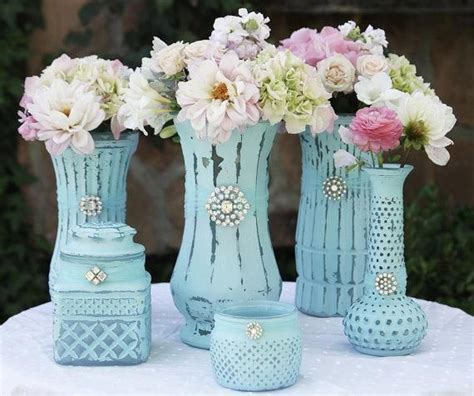 chalk paint vase vases painted with chalk paint craft ideas