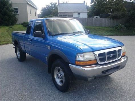 buy used 99 ford ranger xlt 4x4 runs excellent reliable truck in red lion pennsylvania united