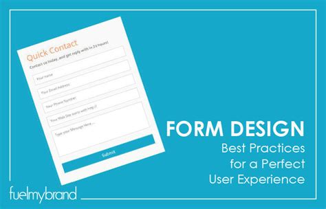 form design best practices fuelmybrand blog page 2 of 21 logo design and