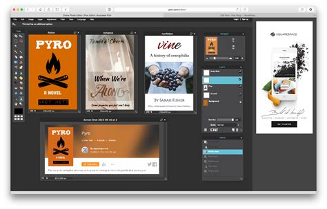 free layout editor create a wattpad book cover design with downloadable pixlr