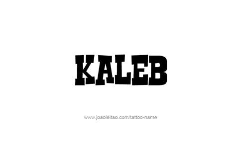 kaleb given name
