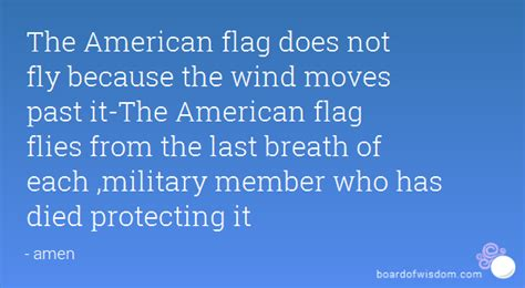 The Last American Quotes Quotes About The Us Flag Quotesgram