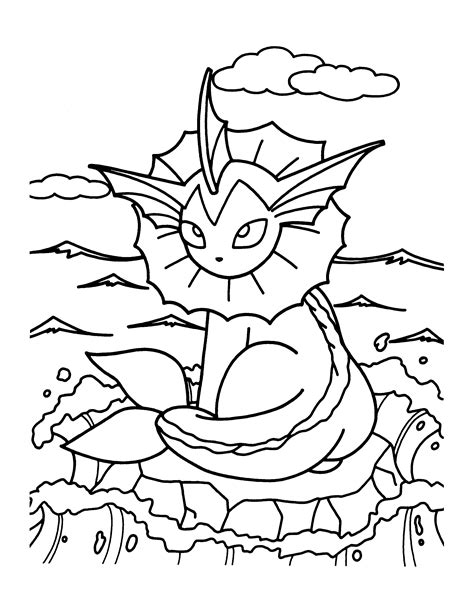 Pokemon Coloring Pages Join Your Favorite Pokemon On An Free Coloring Sheets For Free