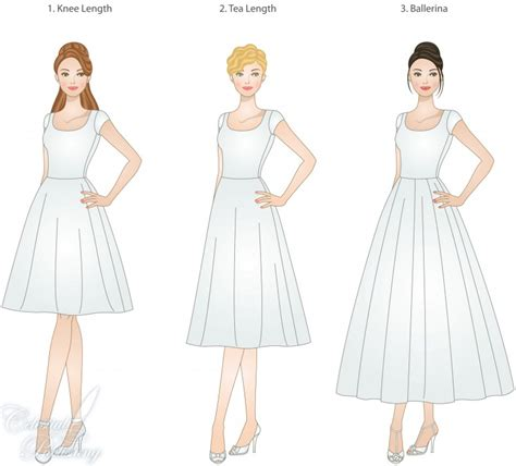 Skirt Lengths, Choices for LDS Weddings   LDS Wedding Planner