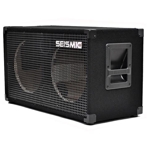 empty plastic speaker cabinets seismic audio 212 empty guitar speaker cabinet 2x12 pro