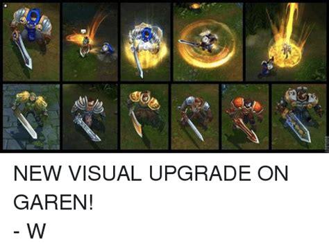 Garen Memes - roflbot 砂 new visual upgrade on garen w league of