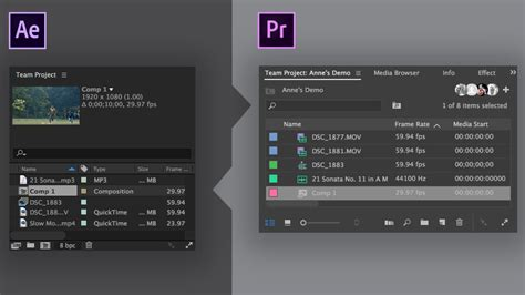 export adobe premiere to after effects collaborate on shared video projects adobe premiere pro
