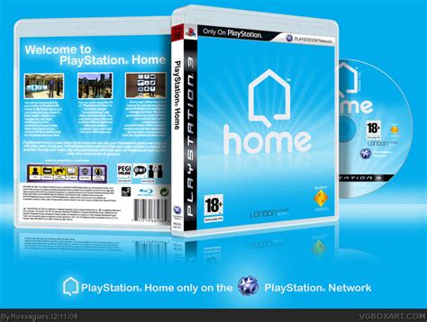 playstation home playstation 3 box cover by rossagues