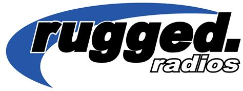 rugged radios rugged radios logo white border lg terracross atv utv racing