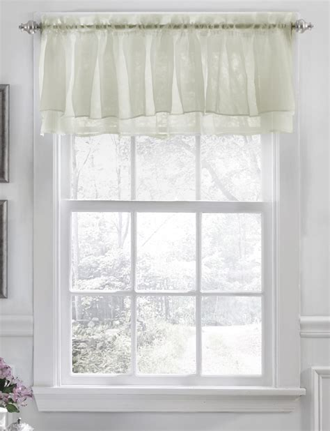 white kitchen valance shabby chic valance white lorraine kitchen