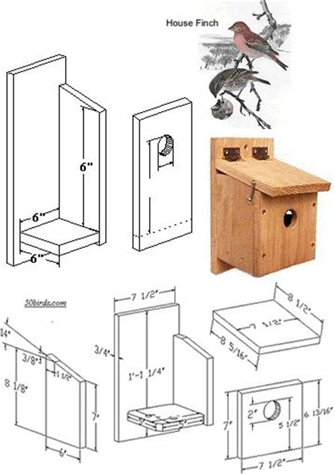 25 Best Bird House Plans Ideas On Pinterest Diy Best Bird House Plans