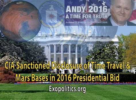 bid on travel cia sanctioned disclosure of time travel mars bases in