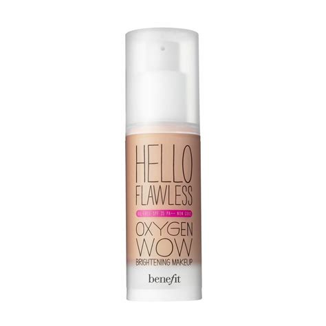 Foundation Hello Flawless Benefit Hello Flawless Oxygen Wow Spf 25 Liquid Foundation