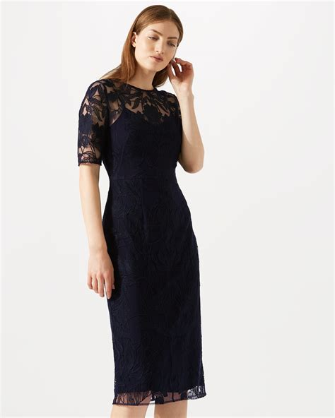 Embroidered Sleeve Dress floral embroidered sleeve dress jigsaw