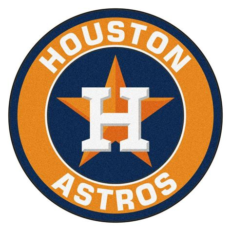 Home Decor Boston fanmats mlb houston astros orange 2 ft 3 in x 2 ft 3 in