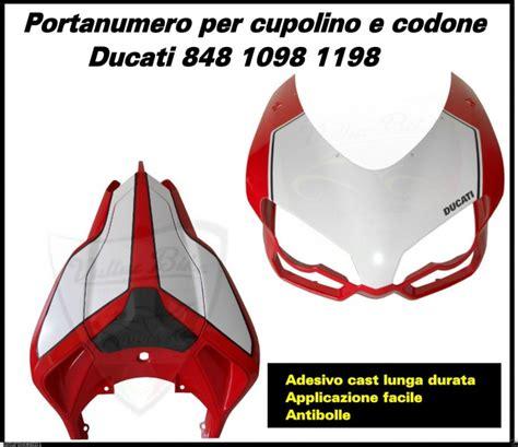 Ducati 1198 Aufkleber by Aufkleber Kit Wei 223 F 252 R Ducati 848 1098 1198