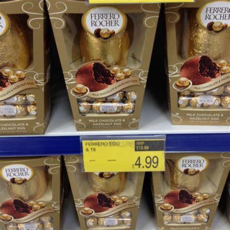 ferrero rocher easter eggs ferrero rocher easter egg rrp 163 10 99 only 163 4 99 b m