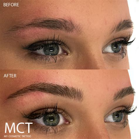 tattoo eyebrows wellington cosmetic tattoo before and after www imgkid com the