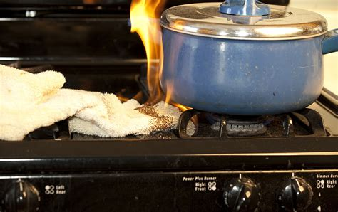 How Do Kitchen Fires Start by Cooking Safety Kannapolis Insurance Company