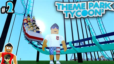 theme park tycoon theme park tycoon ep 2 making first rollercoaster