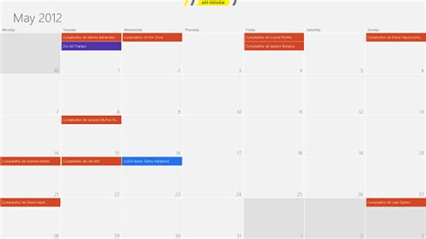 Calendar U Of T C 243 Mo Usar El Calendario De Windows 8 Y Sincronizar El De