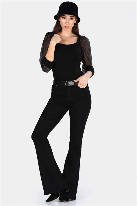 ispanyol paca siyah kadin kot pantolon